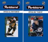 NHL Winnipeg Jets 2016 Parkhurst Team Set and All-Star Set