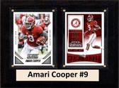 "NCAA 6""X8"" Amari Cooper Alabama Crimson Tide Two Card Plaque"