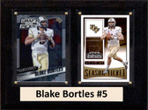 """NCAA 6""""X8"""" Blake Bortles UCF Knights Two Card Plaque"""