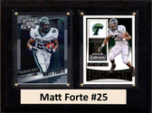 "NCAA 6""X8"" Matt Forte Tulane Green Wave Two Card Plaque"