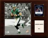 "NFL 12""x15"" Carson Wentz Philadelphia Eagles Player Plaque"