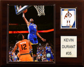"NBA 12""x15"" Kevin Durant Golden State Warriors Player Plaque"