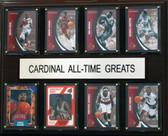 "NCAA Basketball 12""x15"" Louisville Cardinal All-Time Greats Plaque"