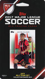 MLS Atlanta United FC 2017 Topps Team Set