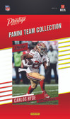 NFL San Francisco 49ers Licensed 2017 Prestige Team Set.