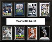 "NFL 12""x15"" Ryan Tannehill Miami Dolphins 8-Card Plaque"