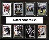 "NFL 12""x15"" Amari Cooper Oakland Raiders 8-Card Plaque"