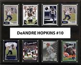 """NFL 12""""x15"""" DeAndre Hopkins Houston Texans 8-Card Plaque"""