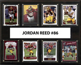 "NFL 12""x15"" Jordan Reed Washington Redskins 8-Card Plaque"