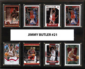 "NBA 12""x15"" Jimmy Butler Chicago Bulls 8-Card Plaque"