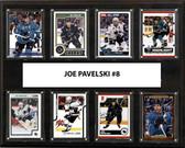 "NHL 12""x15"" Joe Pavelski San Jose Sharks  8-Card Plaque"