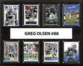 "NFL 12""x15"" Greg Olsen Carolina Panthers Player Plaque"