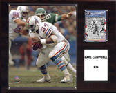 "NFL 12""x15"" Earl Campbell Houston Oilers Player Plaque"