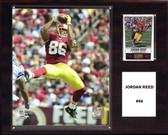 "NFL 12""x15"" Jordan Reed Washington Redskins Player Plaque"