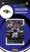NFL Baltimore Ravens Licensed 2017 Donruss Team Set.