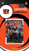 NFL Cincinnati Bengals Licensed 2017 Donruss Team Set.