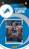 NFL Detroit Lions Licensed 2017 Donruss Team Set.