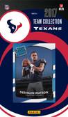 NFL Houston Texans Licensed 2017 Donruss Team Set.