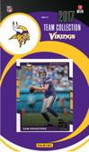 NFL Minnesota Vikings Licensed 2017 Donruss Team Set.