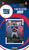 NFL New York Giants Licensed 2017 Donruss Team Set.