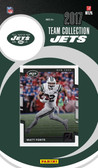 NFL New York Jets Licensed 2017 Donruss Team Set.