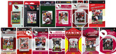 Arizona Cardinals13 Different Licensed Trading Card Team Sets