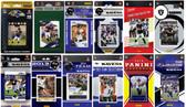 Baltimore Ravens12 Different Licensed Trading Card Team Sets
