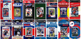 Buffalo Bills14 Different Licensed Trading Card Team Sets