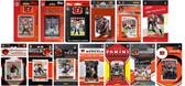 Cincinnati Bengals13 Different Licensed Trading Card Team Sets