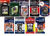 Denver Broncos9 Different Licensed Trading Card Team Sets