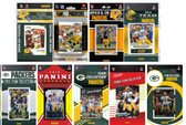 Green Bay Packers9 Different Licensed Trading Card Team Sets