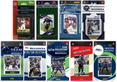 Seattle Seahawks10 Different Licensed Trading Card Team Sets