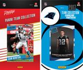 NFL Carolina Panthers Licensed 2017 Panini and Donruss Team Set