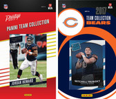 NFL Chicago Bears Licensed 2017 Panini and Donruss Team Set