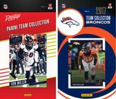 NFL Denver Broncos Licensed 2017 Panini and Donruss Team Set