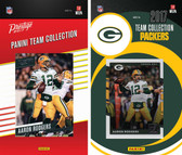 NFL Green Bay Packers Licensed 2017 Panini and Donruss Team Set