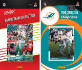 NFL Miami Dolphins Licensed 2017 Panini and Donruss Team Set