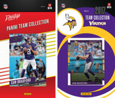 NFL Minnesota Vikings Licensed 2017 Panini and Donruss Team Set