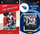 NFL Tennessee Titans Licensed 2017 Panini and Donruss Team Set