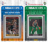 NBA Boston Celtics Licensed 2017-18 Hoops Team Set Plus 2017-18 Hoops All-Star Set
