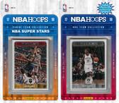 NBA Brooklyn Nets Licensed 2017-18 Hoops Team Set Plus 2017-18 Hoops All-Star Set