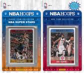 NBA Detroit Pistons Licensed 2017-18 Hoops Team Set Plus 2017-18 Hoops All-Star Set