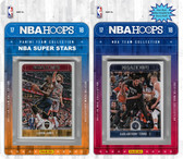 NBA Minnesota Timberwolves Licensed 2017-18 Hoops Team Set Plus 2017-18 Hoops All-Star Set