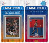NBA Philadelphia 76ers Licensed 2017-18 Hoops Team Set Plus 2017-18 Hoops All-Star Set
