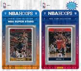 NBA Washington Wizards Licensed 2017-18 Hoops Team Set Plus 2017-18 Hoops All-Star Set