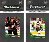 NHL Anaheim Ducks 2017 Parkhurst Team Set and All-Star Set