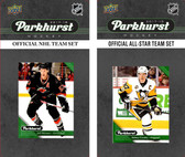 NHL Carolina Hurricanes 2017 Parkhurst Team Set and All-Star Set