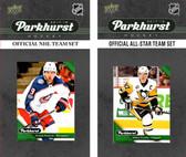 NHL Columbus Blue Jackets 2017 Parkhurst Team Set and All-Star Set