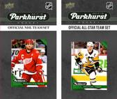NHL Detroit Red Wings 2017 Parkhurst Team Set and All-Star Set