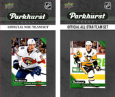 NHL Florida Panthers 2017 Parkhurst Team Set and All-Star Set